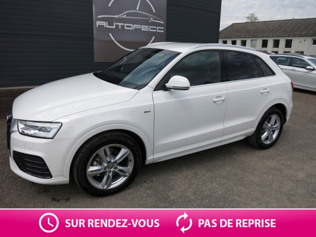 audi q3 2 0 tdi 184 s line quattro s tronic. Black Bedroom Furniture Sets. Home Design Ideas